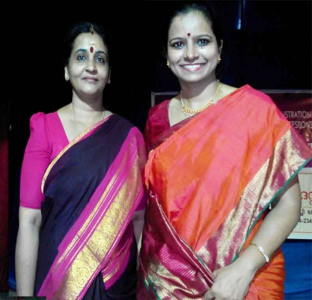With Vidushi Jayanthi Kumaresh after her Superb Veena Concert at Edappally Changampuzha Park