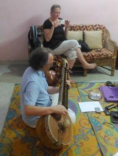 Veena Lessons at Shanmukhapriya School of Music