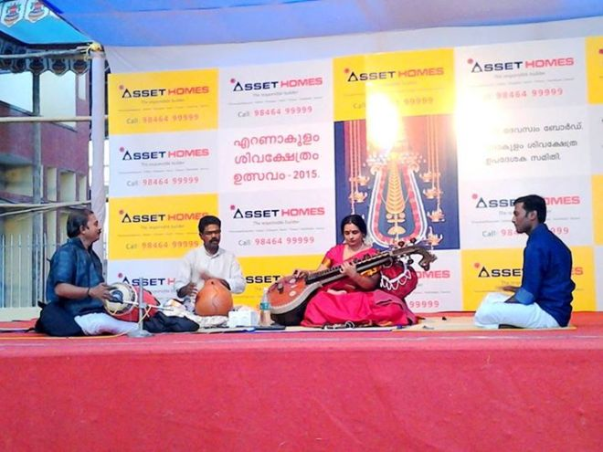 5-Ernakulathappan Temple Utsavam Concert -2015