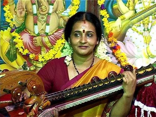 Veena Recital at Anchumana Temple-Edappally 29th Oct.2011