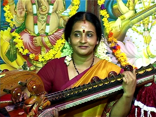 Veena Recital at Anchumana Temple-Edappally 29th Oct.2011