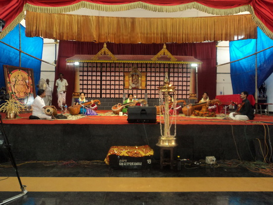 Veena Concert at Chottanikkara Temple on Sep.28th 2011