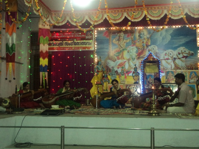 Veena Concert at Ananthapuram Sree Krishna Swami Temple on Sep.28th 2011.