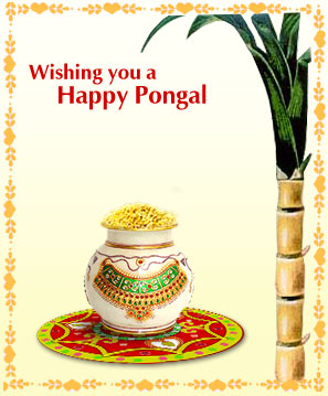 Wishing you all a Very Happy Pongal that brings all the prosperity and blessings to you from GOD ALMIGHTY