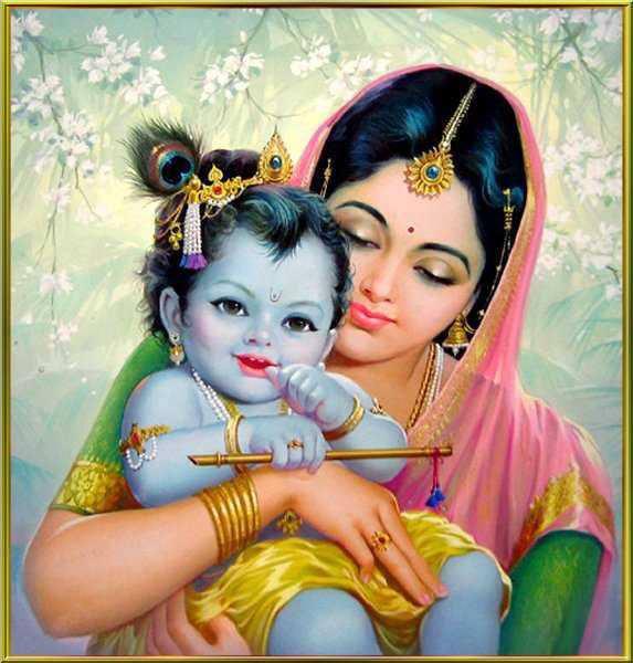 05-Krishna And Yasoda
