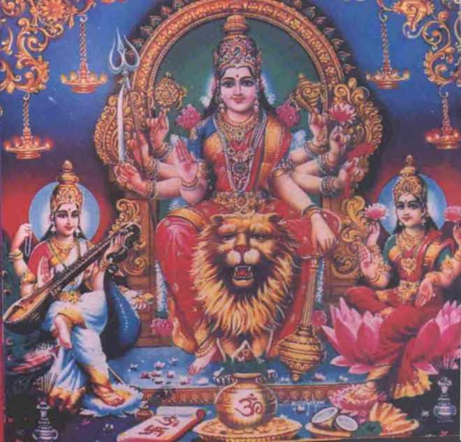 86-Durga-Lakshmi Saraswathi