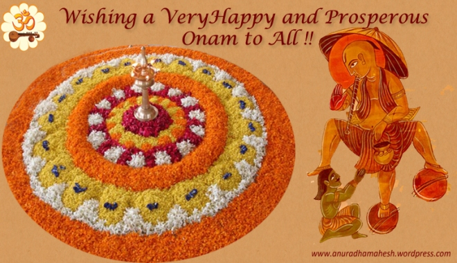 Onam Greetings !! 2014