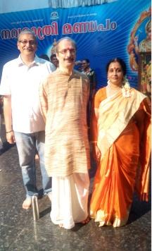Performing @ Chottanikkara Temple on 26th Sep. 2017
