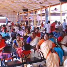 A view of Audience @ Guruvayur Temple