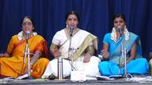 Ashtapadi singing with the students of Shanmukhapriya School of Music @Guruvayur Melpathur Auditorium