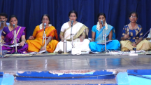 Ashtapadi singing with the students of Shanmukhapriya School of Music @Guruvayur Melpathur Auditorium